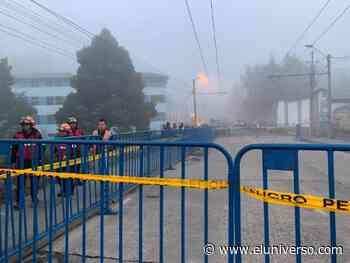 Un mes durarán trabajos en puente sobre río Machángara en Quito - El Universo