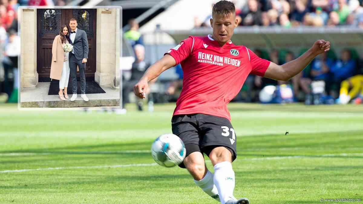Er hat Ja gesagt! Waldemar Anton heiratet - und bleibt vorerst bei Hannover 96 - Sportbuzzer