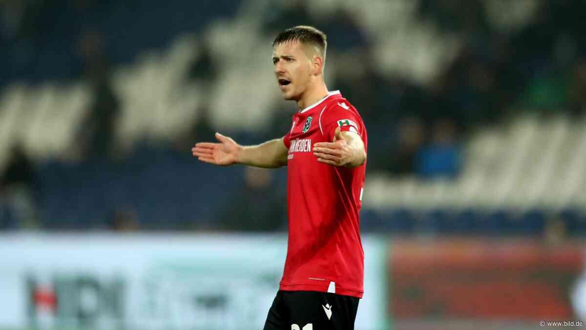 Hannover 96: Christian Schulz hilft aus, Sorgen um Waldemar Anton - BILD