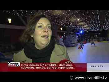 La patinoire de la Ferme aux Oies à Marcq-en-Baroeul fait son grand retour! - Grand Lille TV