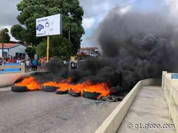 Protesto de ostreiros bloqueia ponte que liga Itapissuma a Itamaracá - G1