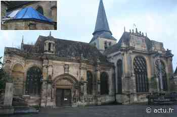 Val-d'Oise. L'église de Magny-en-Vexin fermée durant trois mois pour travaux - actu.fr