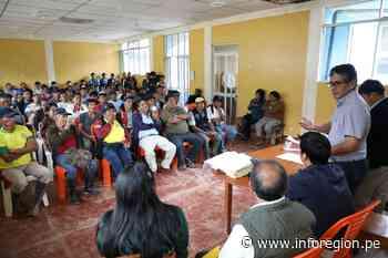 Junín: Retoman trabajos para titulación de predios rurales en Perené - INFOREGION
