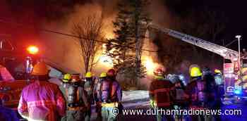 Courtice house fire leaves one man displaced - durhamradionews.com