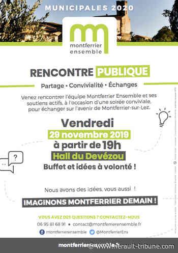 MONTFERRIER-SUR-LEZ - Montferrier Ensemble 1ère Rencontre Publique - Hérault-Tribune