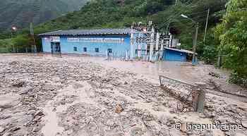Cajamarca: Huaico destruye central hidroeléctrica en Celendín - LaRepública.pe