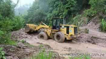 Lluvias perjudican la rehabilitación de vías afectadas en Soritor - Diario Voces