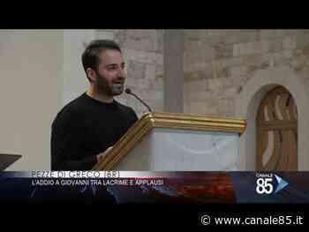 Pezze di Greco (Br) | Palloncini bianchi e lacrime per l'addio a Giovanni - Canale 85