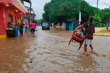 Desbordamiento de un río crea emergencia en Unguía, Chocó - La FM