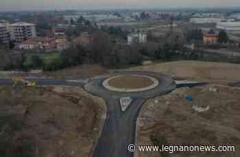 Pregnana Milanese, riapre il primo tratto di viale Lombardia - LegnanoNews