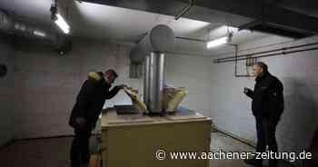 Unter der Gesamtschule in Aldenhoven: Das unterirdische Krankenhaus - Aachener Zeitung
