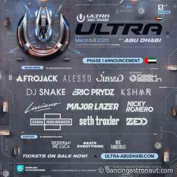 Ultra announces Abu Dhabi debut with ZEDD, DJ Snake, Major Lazer, and more - Dancing Astronaut