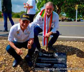 Atlántico y Bolívar hacen integración regional con vía Villa Rosa - San Estanislao de Kosftka - El Universal - Colombia