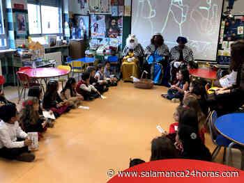Los Reyes Magos visitan el Centro Infantil del San Estanislao de Kostka - Salamanca 24 Horas