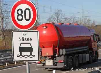 Geschwindigkeitsbegrenzung: Warum gilt auf der A7 bei Betzigau Tempo 80 bei Nässe? - all-in.de - Das Allgäu Online!