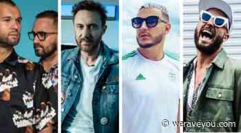 David Guetta, Fisher, DJ Snake & ARTBAT's music among 'Most Heard Tracks of 2019' - We Rave You