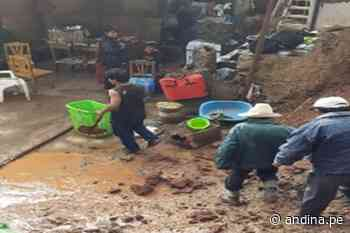 Áncash: reportan cinco viviendas afectadas por las lluvias intensas en Pomabamba - Agencia Andina
