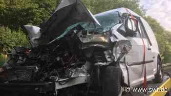 Schwerer Unfall auf A81 bei Untergruppenbach - SWR