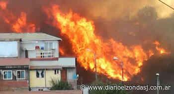 Sospechan que el incendio que afectó Valparaiso fue intencional - Diario El Zonda