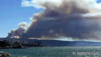 Un incendio en Valparaiso (Chile) destroza decenas de casas - OKDIARIO