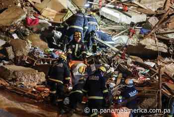 Derrumbe de una vivienda en Valparaiso deja seis muertos - Panamá América