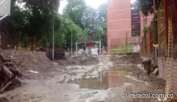 Piedecuesta sin agua por avalancha en Floridablanca - Caracol Radio