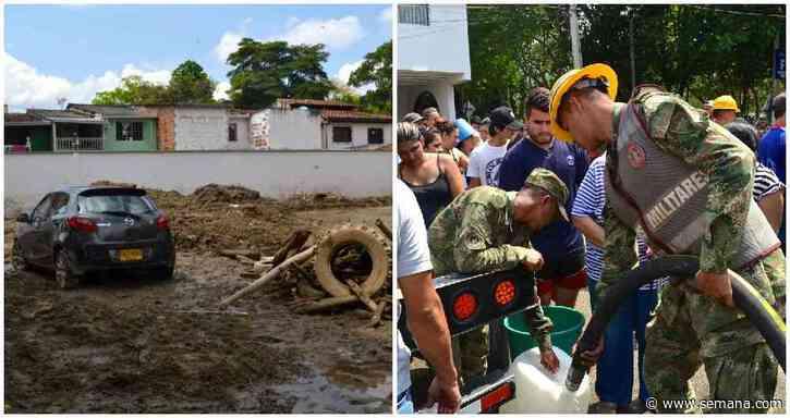 Declaran calamidad pública en Floridablanca por avalancha - Semana.com