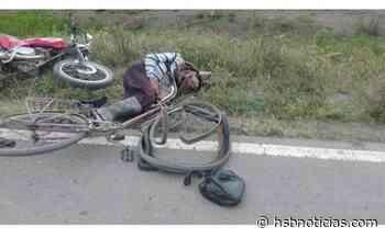 Agricultor fue embestido por motociclista en la vía Simijaca - Carmen de Carupa | HSB Noticias - HSB Noticias