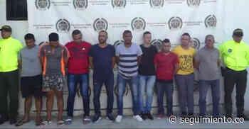 Desmantelan la banda 'Los Caimanes', dedicada al hurto en Ciénaga - Seguimiento.co