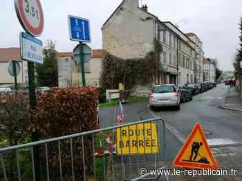 Brunoy : rupture d'une canalisation d'eau rue du Réveillon - Le Républicain de l'Essonne