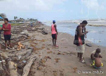Rescatan a pescadores que habían desaparecido en Laguna de Perlas - TN8 Nicaragua