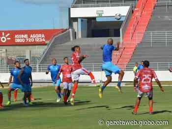 CSA goleia Seleção de Joaquim Gomes em jogo-treino no Rei Pelé - Gazetaweb.com