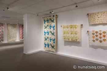 New exhibit showcases little-known piece of Cape Dorset's art history - Nunatsiaq News