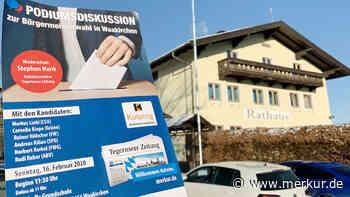 Kommunalwahl 2020: Die sechs Bürgermeister-Kandidaten auf dem Podium | Waakirchen - merkur.de
