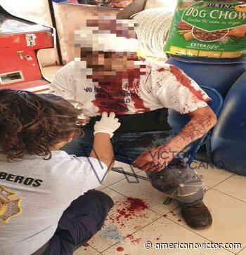 Hieren a hombre con arma blanca en Zitacuaro - www.americanovictor.com