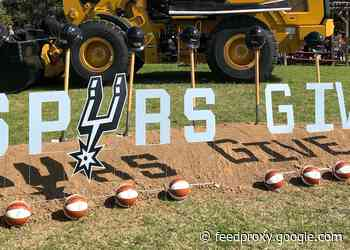 NEWLY BRANDED SPURS GIVE TEAMS UP WITH THE CITY OF SAN ANTONIO TO INVEST $1 MILLION TO RESTORE PARKS ACROSS THE CITY
