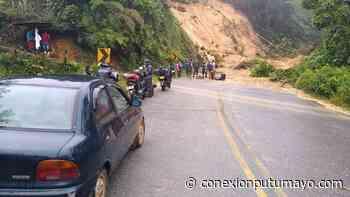 Vía Mocoa – Pitalito presenta cierre total por derrumbe - Conexión Putumayo