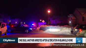One dead, one in custody after altercation in Blainville - CityNews Montreal