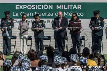 Abre muestra militar La Gran Fuerza de México, en terminal Buenavista (+fotos) - 24 HORAS