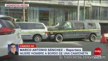 Muere hombre a bordo de camioneta en la colonia Buenavista, CDMX - Noticieros Televisa