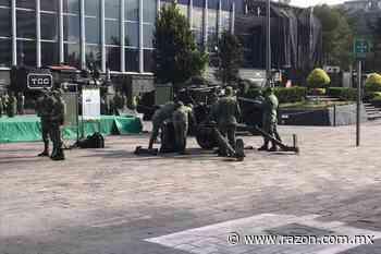 Arranca exposición militar en explanada de Buenavista - La Razon