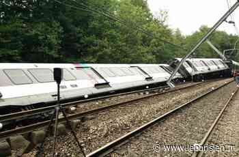 Saint-Rémy-lès-Chevreuse : la pluie et le mauvais état du remblai avaient fait dérailler le RER B - Le Parisien