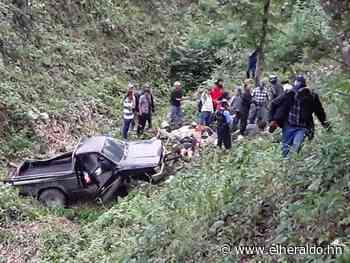 Dos muertos y tres heridos deja accidente de tránsito en Lepaera - ElHeraldo.hn