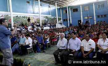 Nueva carretera de Lepaera estará lista antes de que finalice el Gobierno - La Tribuna.hn
