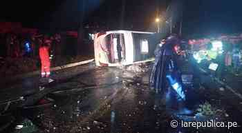 Accidente en la vía Cusco – Sicuani deja una persona muerta y varios heridos - LaRepública.pe