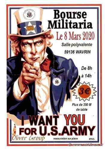 Bourse militaria salle polyvalente wavrin 8 mars 2020 - Unidivers