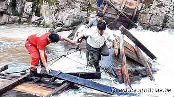 Dos personas desaparecidas por colapso de puente en Villa Rica - exitosanoticias
