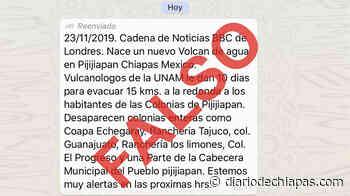 Falso nuevo nacimiento de volcán de agua en Pijijiapan - Diario de Chiapas