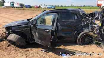 Autofahrer (62) setzt zum Überholen an – und landet mit Beifahrer im Krankenhaus! - heidelberg24.de