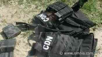 Aseguran armas y vehículos a civiles armados en Zaragoza, Coahuila - Omnia